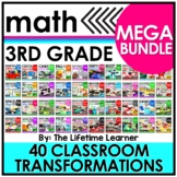Third Grade Classroom Transformations MEGA BUNDLE