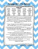 Third Grade Cloze Reading Passages Set C (Passages 21-33)