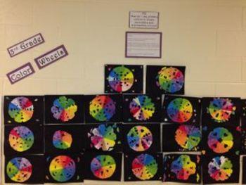 Third Grade Color Wheel