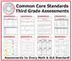 Third Grade Common Core Assessment Workbook