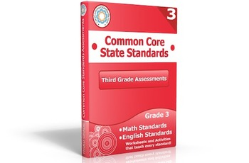 Third Grade Common Core Assessment Workbook