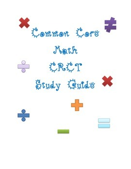 Third Grade Math Common Core CRCT Study Guide
