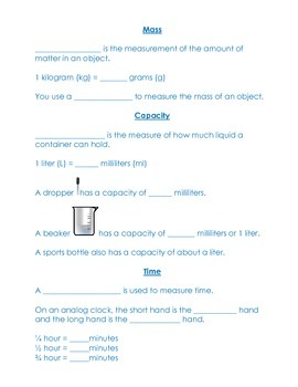 Third Grade Math Common Core CRCT Study Guide