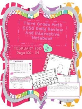 Third Grade Common Core Daily Math - FEBRUARY 2015