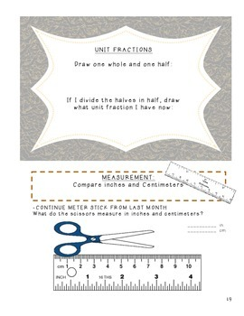 Third Grade Common Core Daily Math - OCTOBER 2014