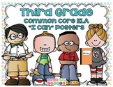 "Third Grade Common Core ELA ""I Can"" Posters {Cute Kiddos P"