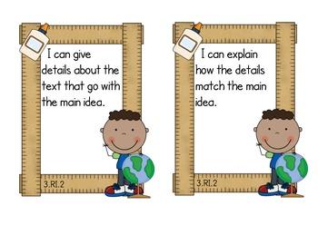 Third Grade Common Core ELA - Informational Text Standards