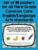 "Common Core ""I Can"" Statements Posters for Third Grade {English/Language Arts}"