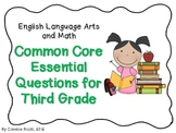 Third Grade Common Core Essential Questions