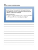 Third Grade Common Core Extended Writing- Module 1, Unit 2
