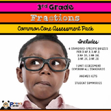 3rd Grade Common Core Fraction Assessments