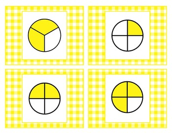 Third Grade Common Core Fractions Game Pack 3.NF.1, 3.NF.2, 3.NF.3
