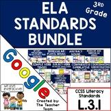 Third Grade Grammar ELA Practice Bundle L.3.1 for Google Drive
