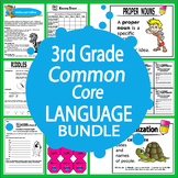 3rd Grade LANGUAGE Bundle (Daily Language Practice + 3rd Grade Grammar Unit)