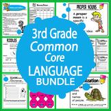 3rd Grade Language – Daily Grammar Practice + Common Core ELA Bundle
