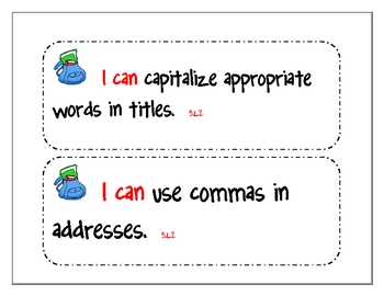 Third Grade Common Core Language Standards
