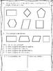 Third Grade Common Core Math 3.G.1 and 2- Geometry