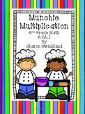 Third Grade Common Core Math 3.OA.1-Multiplication Strategies