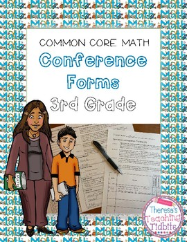 Common Core Math Conference Form Third Grade