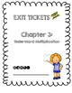 Third Grade Common Core Math Exit Tickets: Go Math! Chapter 3