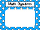 Third Grade Common Core Math Objectives