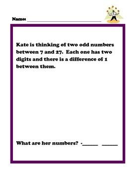 Third Grade Common Core Math Problems