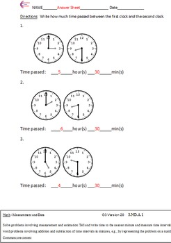 third grade common core math worksheets measurement and data  originaljpg