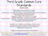 Third Grade Common Core Pack