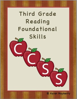 Third Grade Common Core Planning Template and Organizer Package (Word)