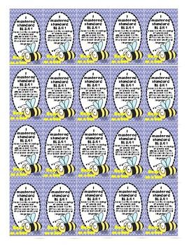 Third Grade Common Core Reading Literature Standards Brag Tags