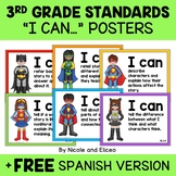Third Grade Common Core Standards I Can Posters