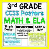 Third Grade Common Core Standards Posters
