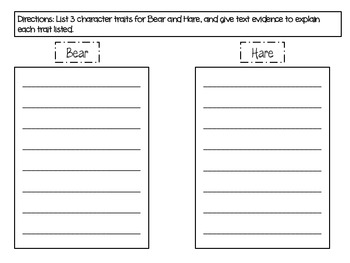 Third Grade Common Core Tops and Bottoms Reading Packet