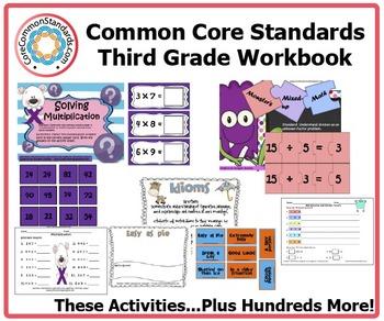 Third Grade Common Core Workbook
