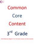 Third Grade Common Core Math Work Operations & Algebraic Thinking ALL STANDARDS