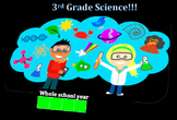 Third Grade Common Core and Next Generation Science NGSS Lessons: Full Year