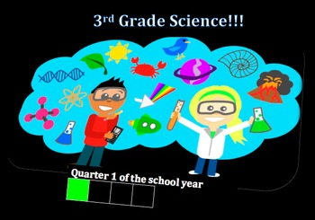 Third Grade Common Core and Next Generation Science NGSS Lessons: Quarter 1