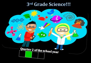 Third Grade Common Core and Next Generation Science NGSS Lessons: Quarter 2