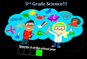 Third Grade Common Core and Next Generation Science NGSS Lessons: Quarter 4