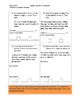 Third Grade Common Core math assessment (includes all stan