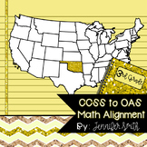 FREEBIE Third Grade Oklahoma Academic Standards Math Alignment