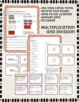 Third Grade Computation Bundle