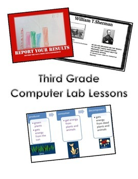 Third Grade Computer Lab / Technology Lessons