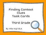 Third Grade Context Clue Task Cards