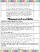 Third Grade Core Standards Checklist
