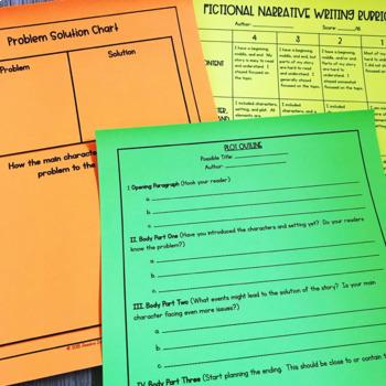 Third Grade Creative Writing Bundle