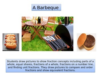 "Third Grade Math Critical Area 2 ""Barbeque"" Performance Task"