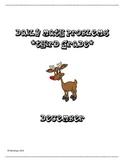 Third Grade Daily Math Problems- December