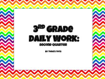 Third Grade Daily Work Quarter 2
