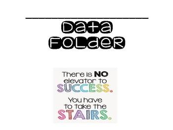Third Grade Data Folder Forms